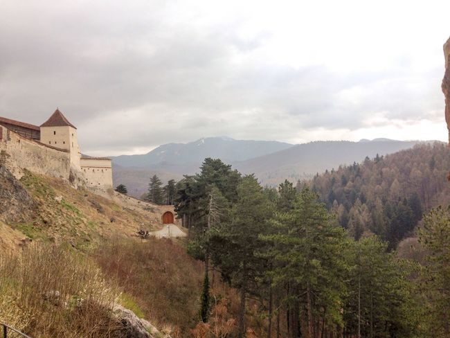 Taking Photos Roadtrip Castle Castles Castle Ruin Râșnov Brasov Showcase April From My Point Of View EyeEm Best Shots Hanging Out Taking Photos Mountains The KIOMI Collection Spring EyeEm Building Nature Photography Vscocam Eyemphotography