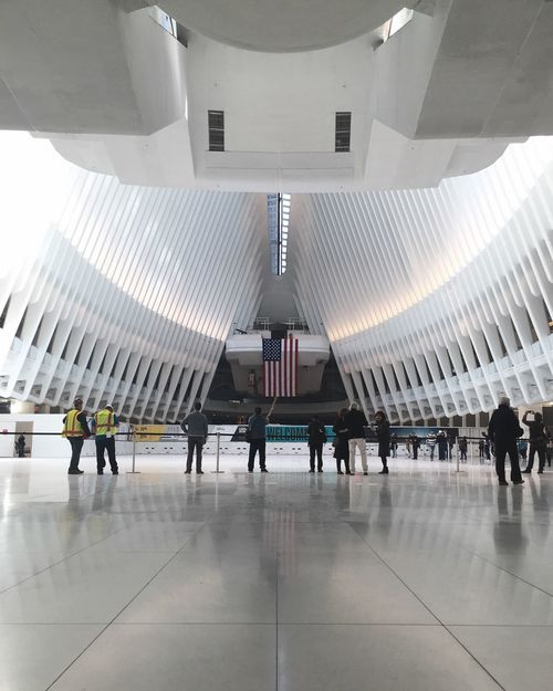 WTC Pathstation Path Station WTC Oculus WTCOculus Structure Structures White White Structure Places I've Been Enjoying The Moment Capture The Moment NYC Street Photography My View City Life Taking Photo Taking Photos NYC Street New York City NYC Photography NYC
