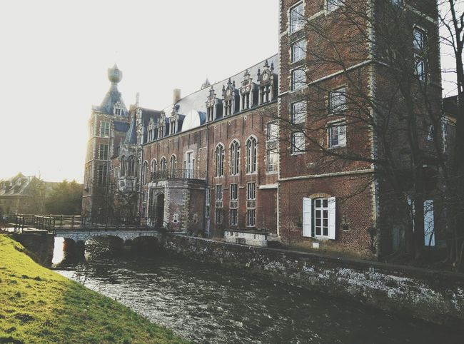 Leuven Flanders Belgium Heverlee Arenberg Kuleuven Campus Architecture Castle Architektur