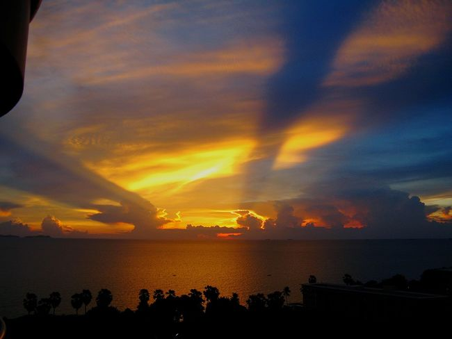 Sun Thailand Pataya Sky Ocean Jurney Travel World