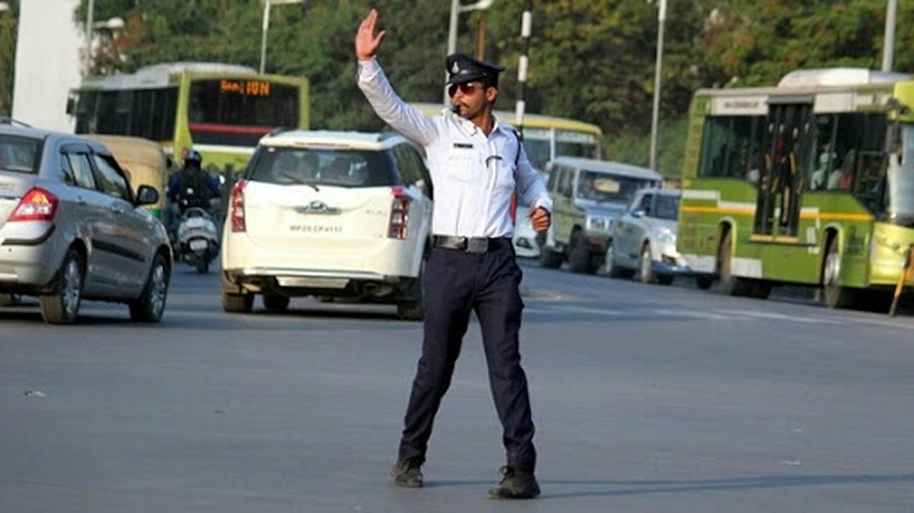 Walk This Way Traffic Police