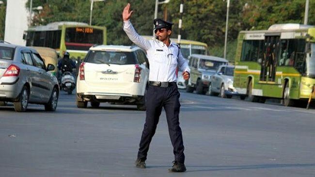 Walk This Way Traffic Police