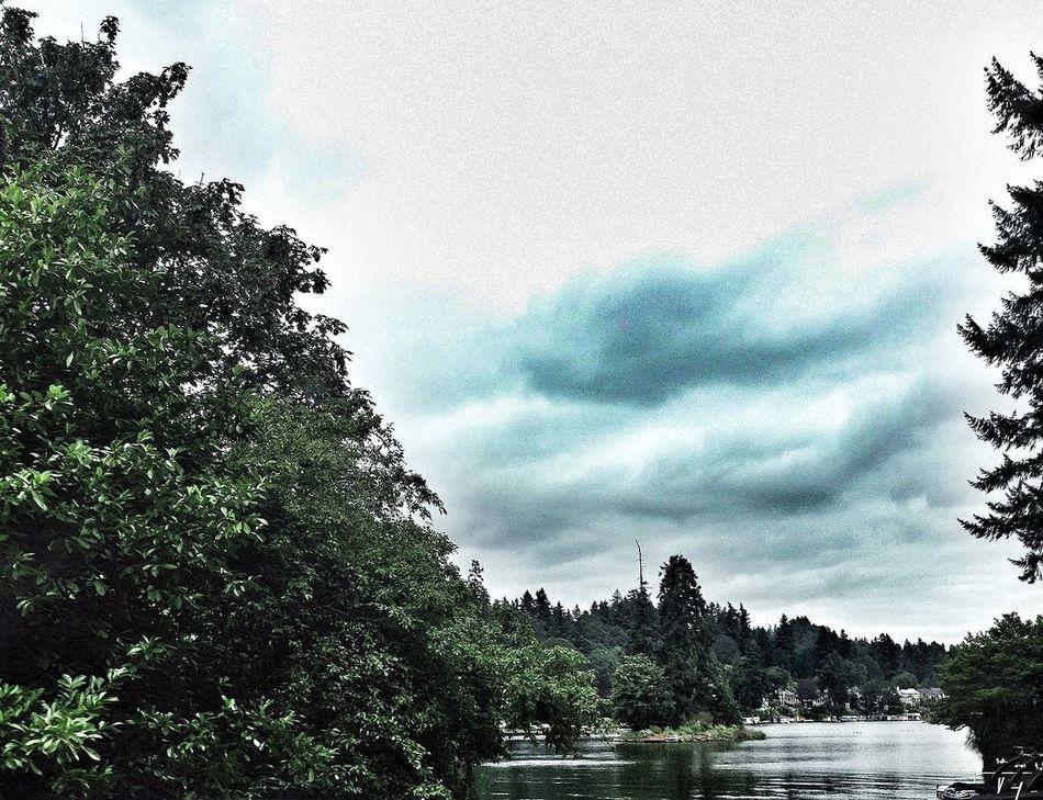 Lake Oswego Portland Clouds And Sky Water