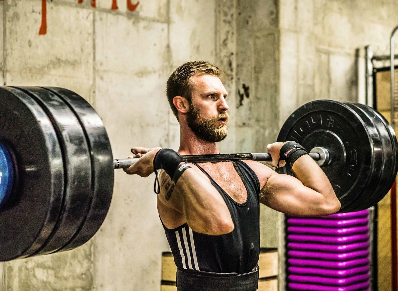 Weightlifting Kilos Strongman Beard Cleanandjerk
