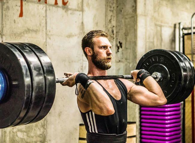 Weightlifting Kilos Strongman Beard Cleanandjerk