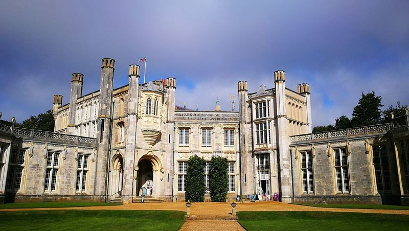 Architecture Built Structure Building Exterior Outdoors Day Grass No People Politics And Government Sky Highcliffe Highcliffe Castle