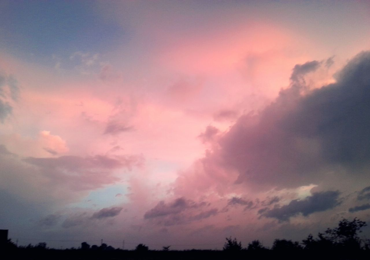 Sky After The Storm Cloud - Sky Summer Sky And Clouds Dramatic Sky Sunset Beauty In Nature