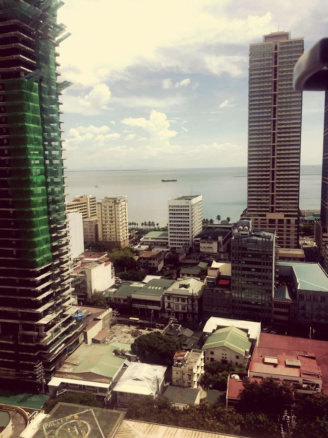 Every morning the view of Manila de Bay! First Eyeem Photo