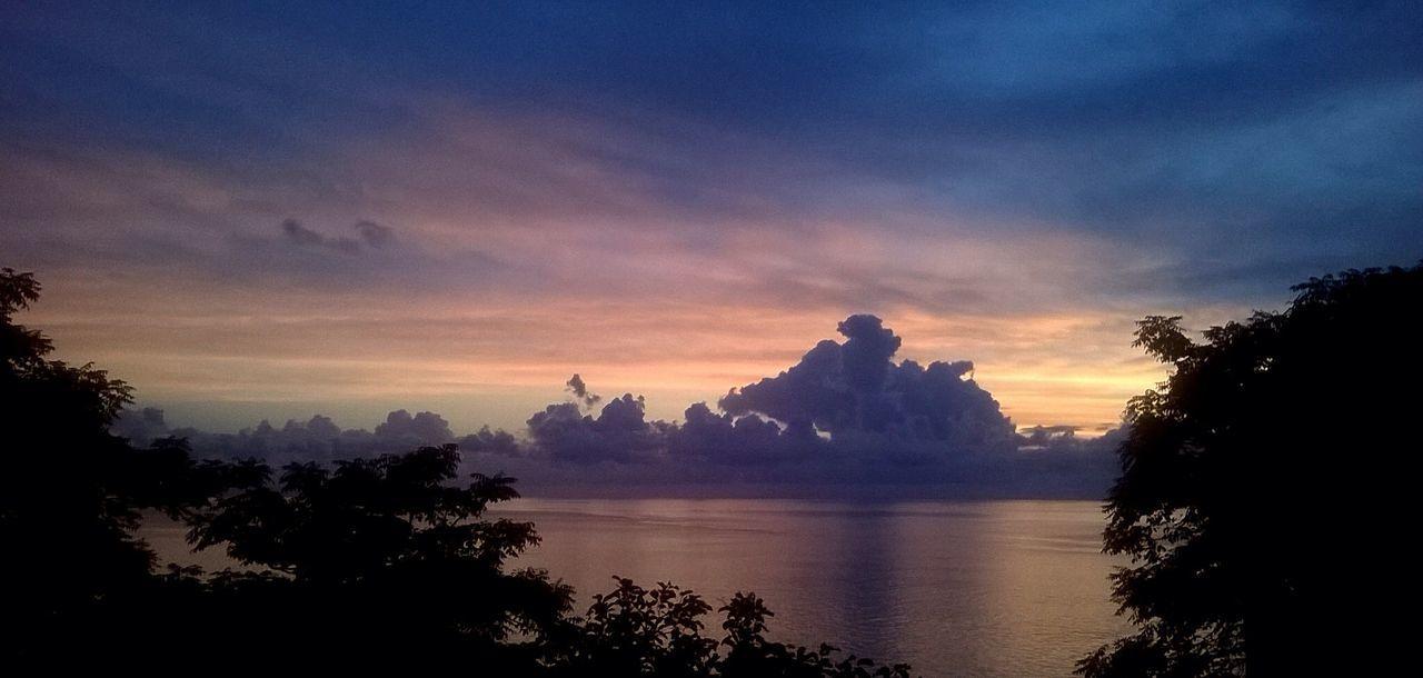 Violet By Motorola Sunset Sengigi Lombok My Best Photo 2015