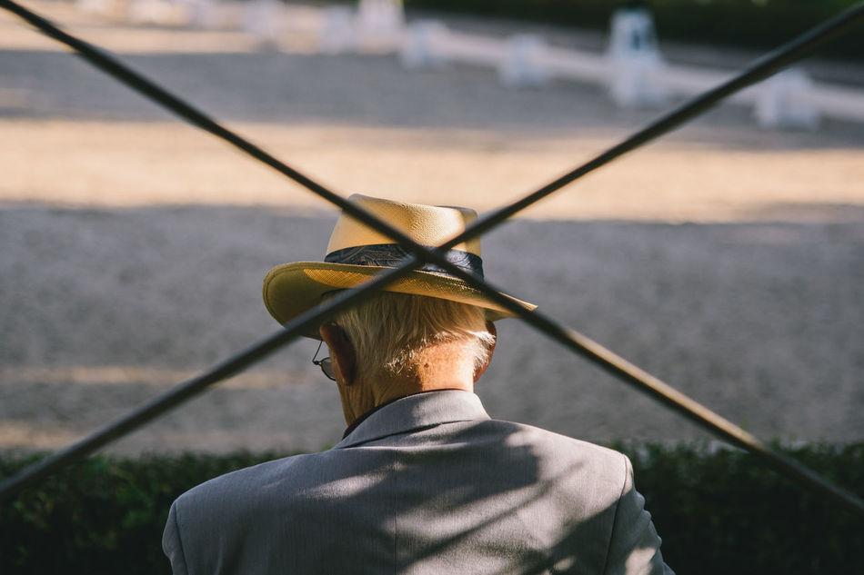 Beautiful stock photos of street photography,  Fence,  Hat,  Horizontal Image,  Leisure Activity