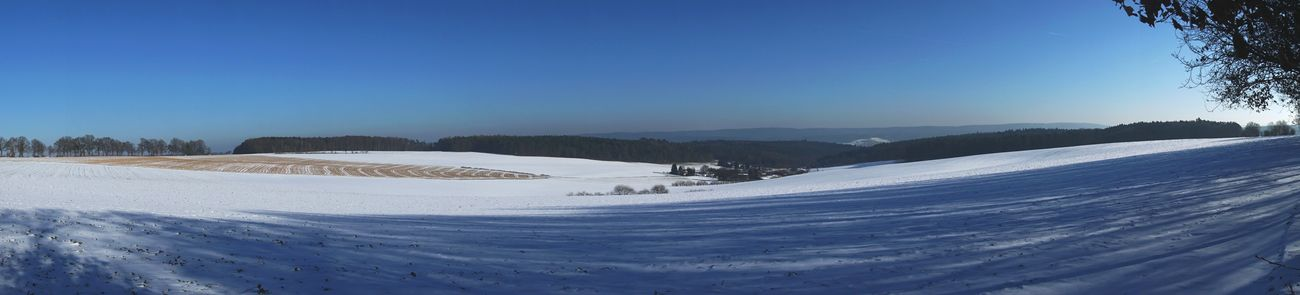Snow Winter Landscape Scenics Cold Temperature Mountain No People Outdoors Sky Day Nature Tree Beauty In Nature Panorama Panoramic Photography