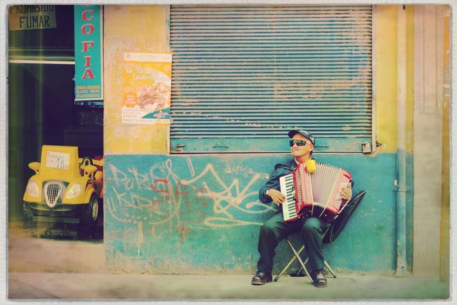 Music One Person One Man Only Musical Instrument Front View Arts Culture And Entertainment Musician Leisure Activity Person Accordion Playing Outdoors People EyeEm Best Edits City Life Bolivia Cochabamba Traveling Streetphotography Real People