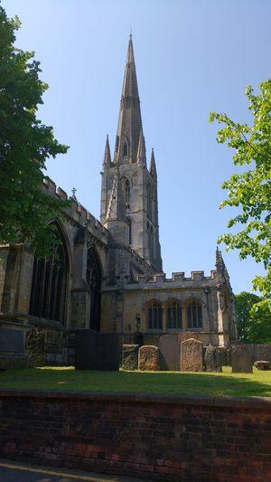 No Filter, No Edit, Just Photography Grantham St.Wulfrum Church Lovelyday Lovelyday💛 Enjoying Life Silence Christianity Religion
