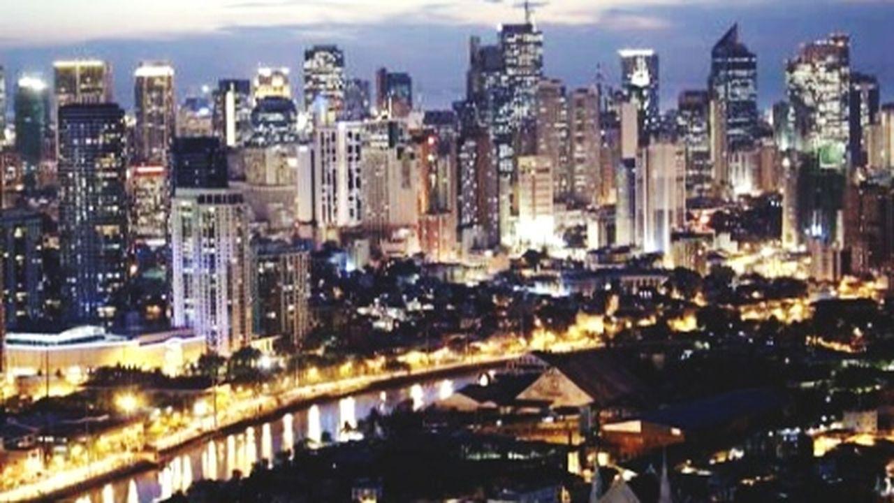 illuminated, cityscape, city, building exterior, architecture, city life, urban skyline, no people, night, skyscraper, outdoors, sky