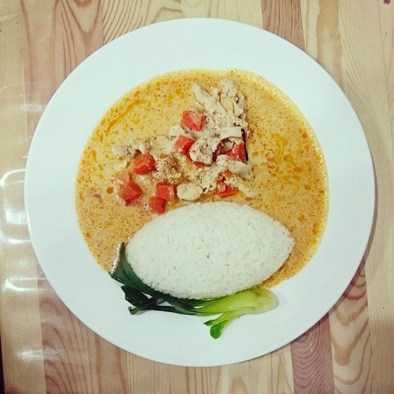 咖哩曼丹 印尼_紅咖哩雞飯