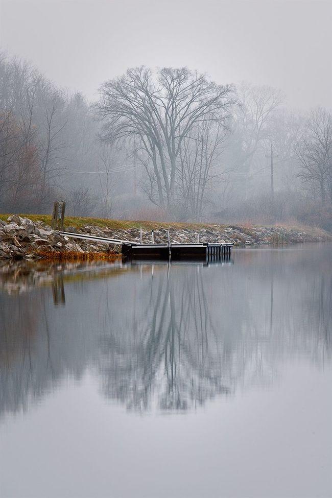 portage at barton pond Portage At Barton Pond