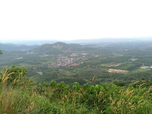 Sleepy hills of Broga Semenyih Town Mountain Cloud - Sky Travel Destinations Nature Landscape Sky Grass