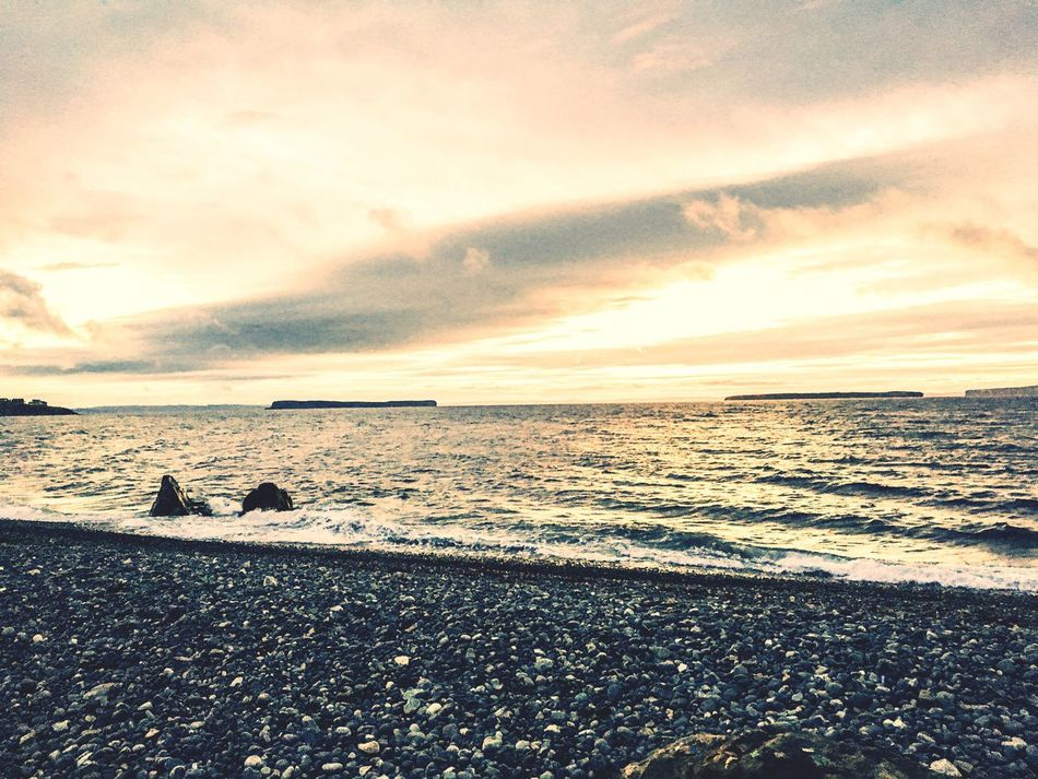 Red Sky At Night, Sailors Delight Topsail Beach CBS NL ExploreNL Shot On IPhone 6s IPhoneography