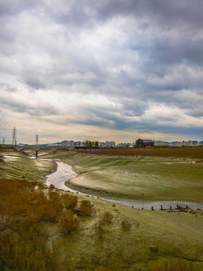 Clouds And Sky Landscape South Korea Eco Park