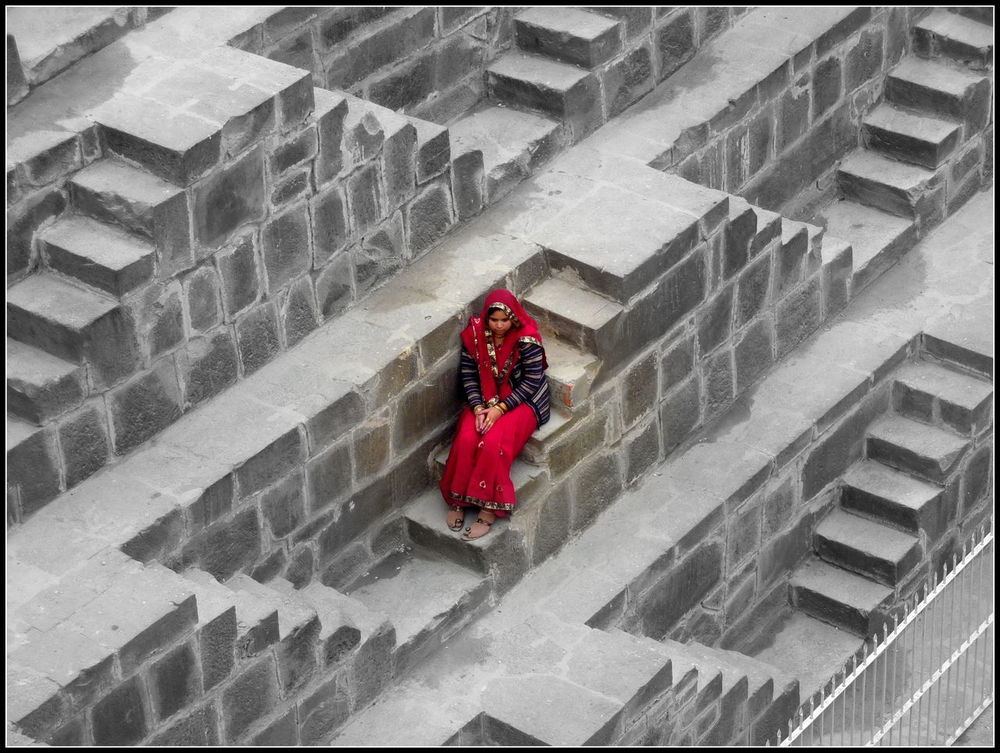 Chand Baori Abhaneri Amazing Architecture Built Structure Historic India Low Angle View Rajesthan Step Well Travel Photography Urban Lifestyle