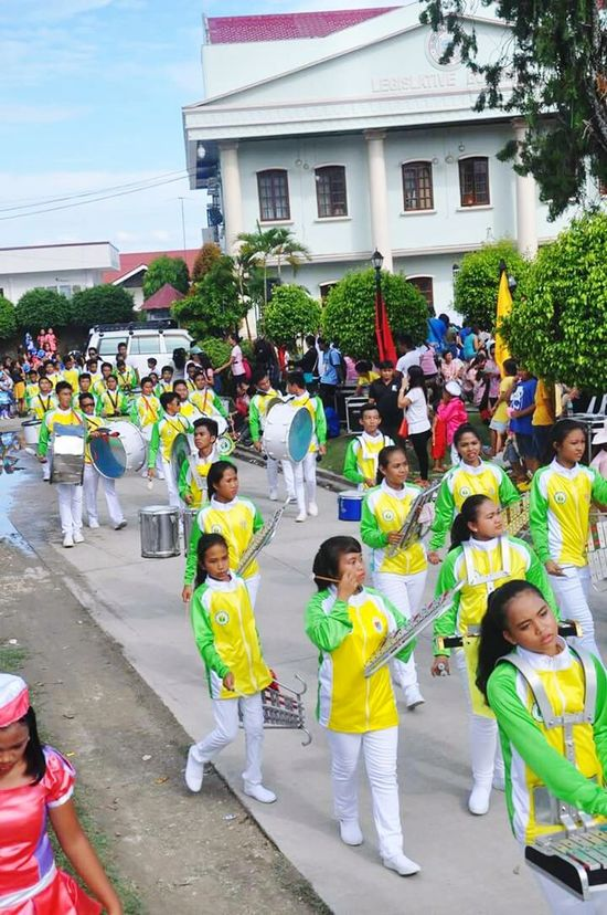 Argao Opening Parade 2k16 Building Exterior Architecture Built Structure Large Group Of People Togetherness Celebration Enjoyment Standing Childhood Full Length Lifestyles Street Men Casual Clothing Leisure Activity Girls Fun Playing Person Day