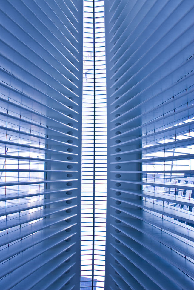 The Oculus Building Abstract Architectural Detail Architecture Blue Building Atrium Built Structure City Day Full Frame Futuristic Indoors  Modern No People Pattern