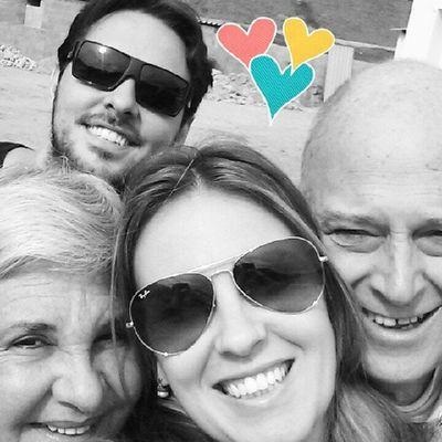 Selfie matinal ♡♥♡♥♡♥ FamíliaSoWen Amordefilha Amomuito