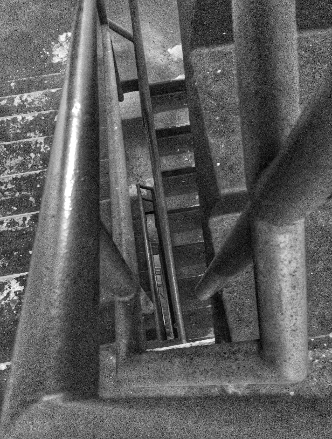 Where do we go from here... Light And Shadow Blackandwhite Downside Up Upside Down Black And White Stairs Staircase Lost Angles And Lines Up Is Down Down Is Up Right Is Wrong Wrong Is Right