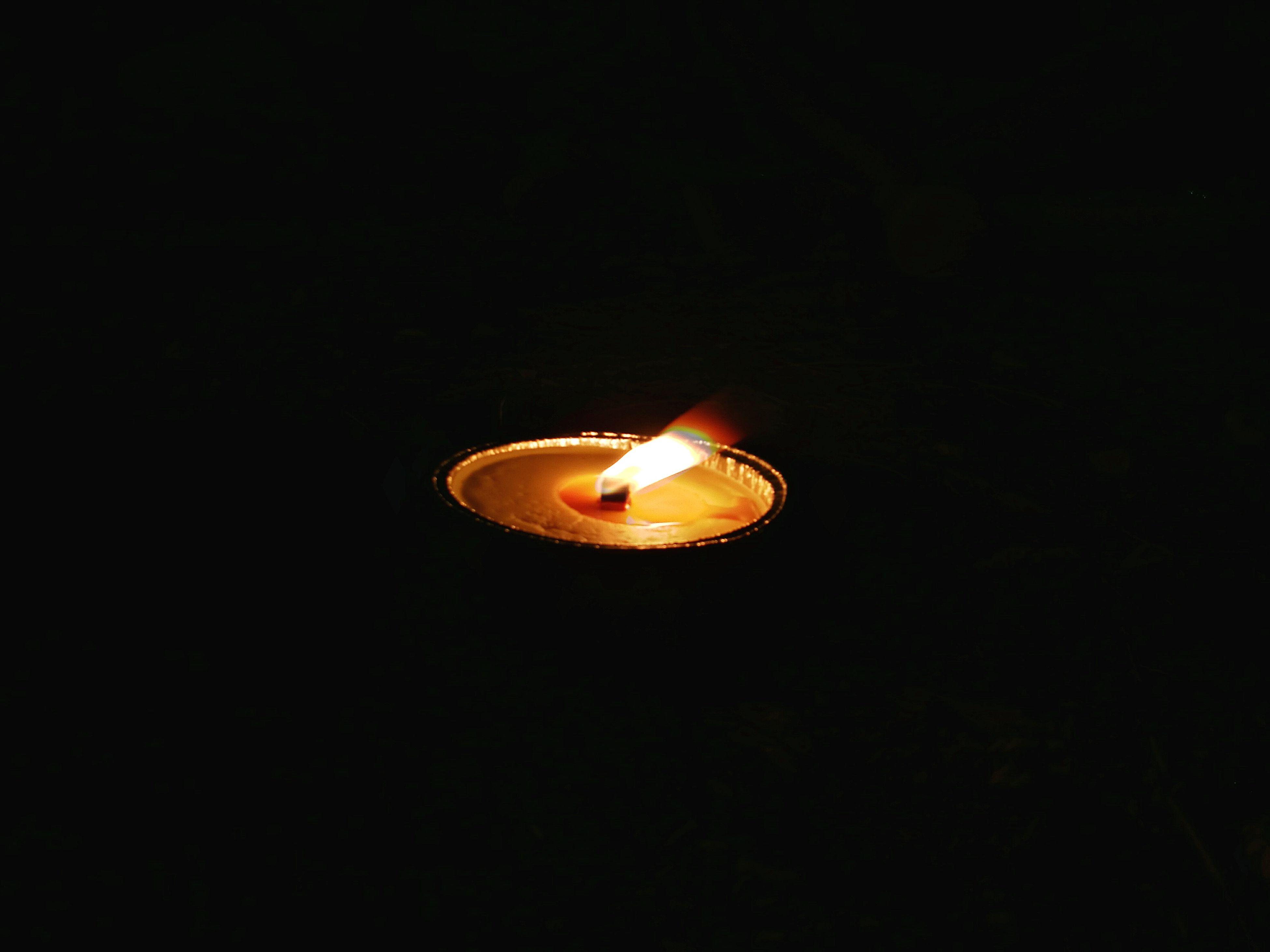 illuminated, burning, copy space, flame, lighting equipment, fire - natural phenomenon, lit, heat - temperature, close-up, candle, glowing, culture, darkroom, outdoors, no people, candlelight, flying