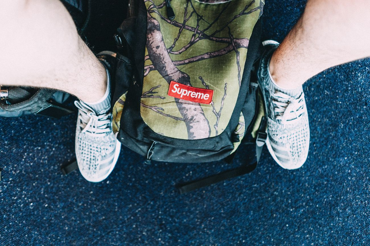 Travel Flying Travel Essentials Supreme Boost Adidas Hypebeast  Sneakerhead