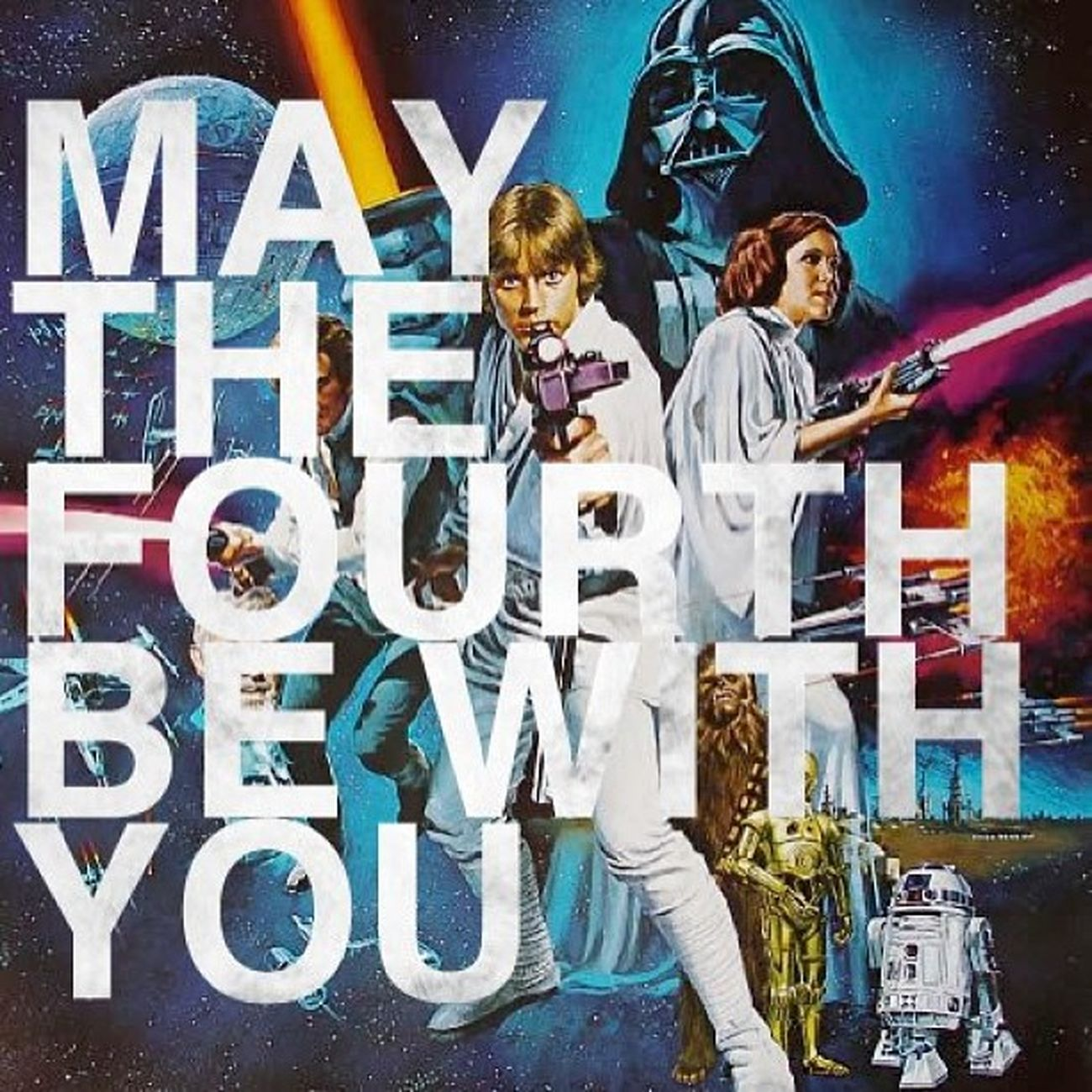YESS the day is finally here!! Time to celebrate the greatest gift America has given the world... MayTheFourthBeWithYou Starwarsday