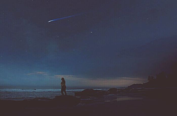 Star - Space Sky Beach Landscape Night Silhouette Travel Destinations Sea Beauty In Nature Nature Bangladesh Followme Check This Out Taking Photos Experimental Color Photography Colours Of Bangladesh The EyeEm Facebook Cover Challenge Photo Manipulation