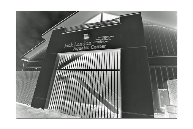 Jack London Aquatic Center @ Estuary Park 6 Embarcadero Cove Waterfront Oakland Harbor Rental Facility Jack London Square Marina Pier Boat Dock Boat Launch Boat Rental Aquactic Center Aquatic Soorts Rowing Club Kyacks Racked & Stacked Black And White Black And White Collection  Blackandwhite Photography Stairways Geometric Patterns Stairs