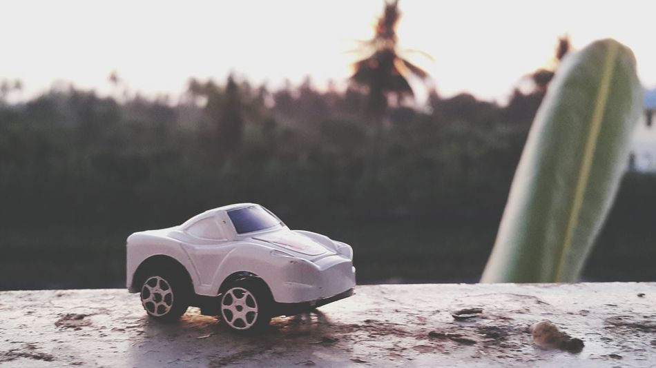 Car Winter Cold Temperature Outdoors Nature Day Silhouette Carlight Morning Light ToyCar Sky Nature Beauty In Nature Light And Shadow Toys Lighting Travelingtoys Mantoy