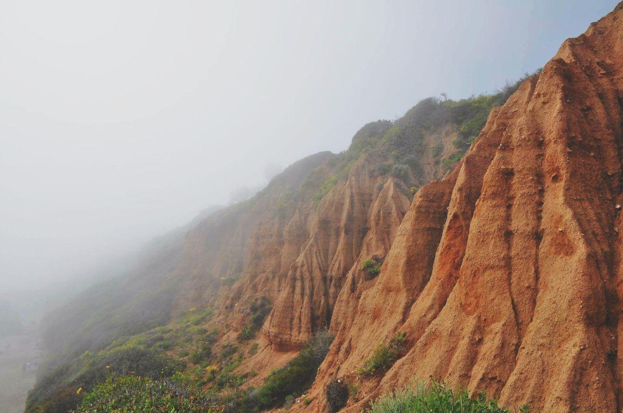 El Matador Fog Fog Nature Landscape Scenics Physical Geography Cliff Vacations El Matador Beach Malibu California