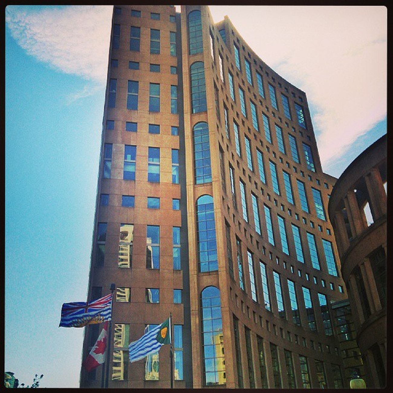 Vancouver Library Architecture Sunnyday