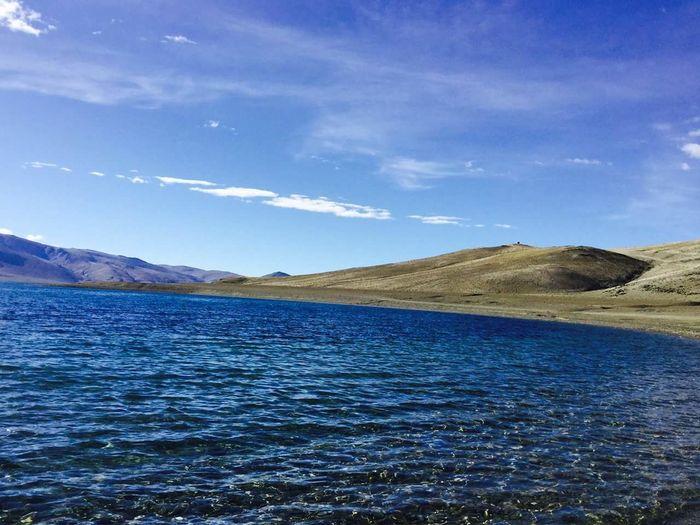Tsomoriri lake.
