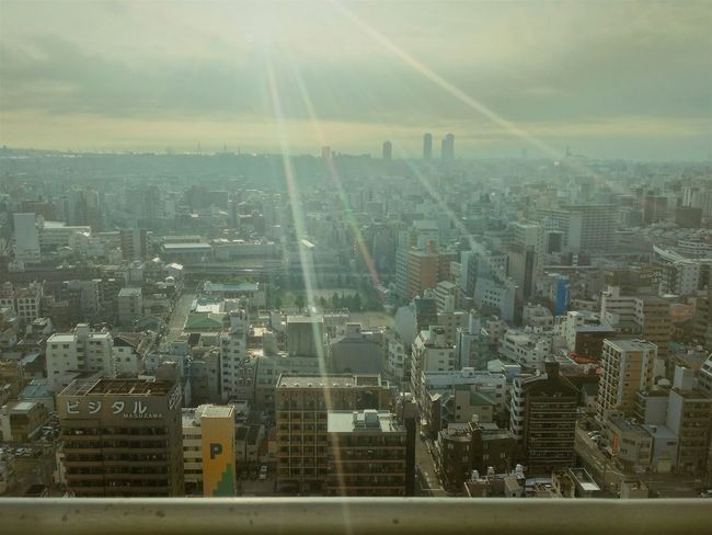 Aerial Shot Cityscapes City Skyline Buildings And Sky Eyeseetheworld Sunlight Lightisbeautyful Ultimate Japan
