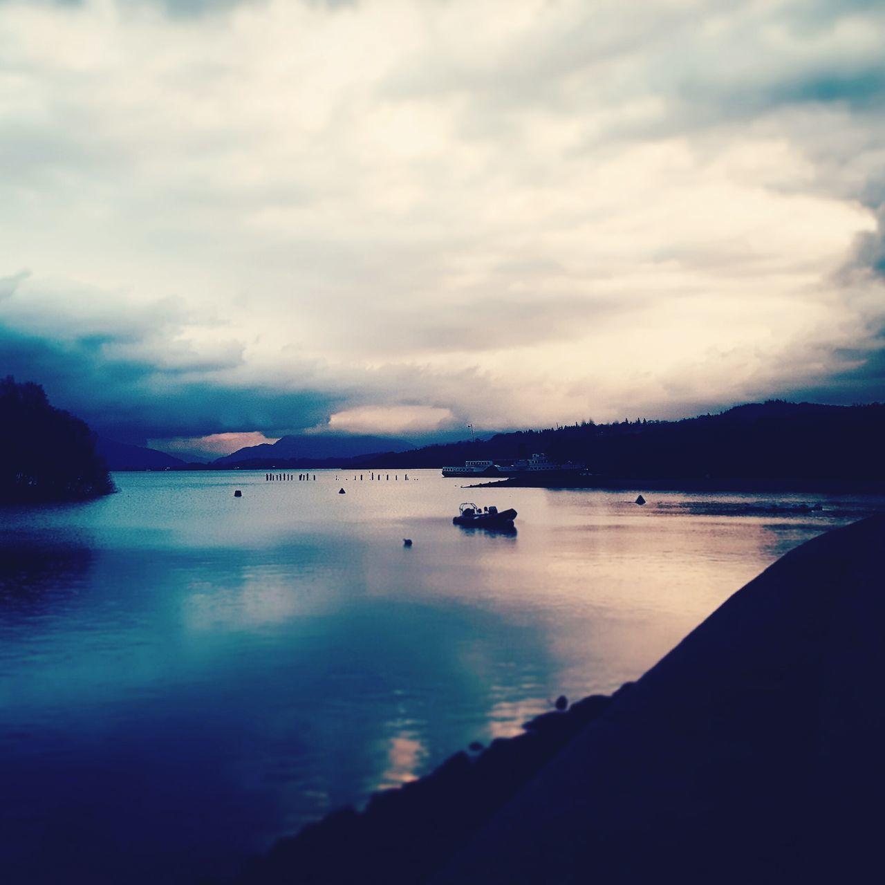 Sunset Cloud - Sky Outdoors Tranquil Scene Tranquility Dramatic Sky LochLomond