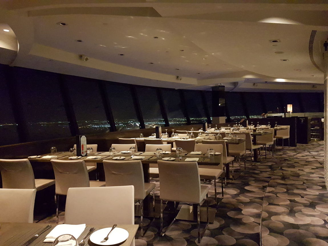 It's time to say goodbye! The 360 Restaurant Empty Empty Places No People Restaurant Chairs Chairswithstories Chairs And Tables Tables And Chairs Revolving Restaurant  Night View Toronto At Night 2016 Circles In Circles Floortraits Indoor Design Curves Geometry Urban Geometry Hanging Out Special Occasion Dinner For Two CN Tower Toronto Canada