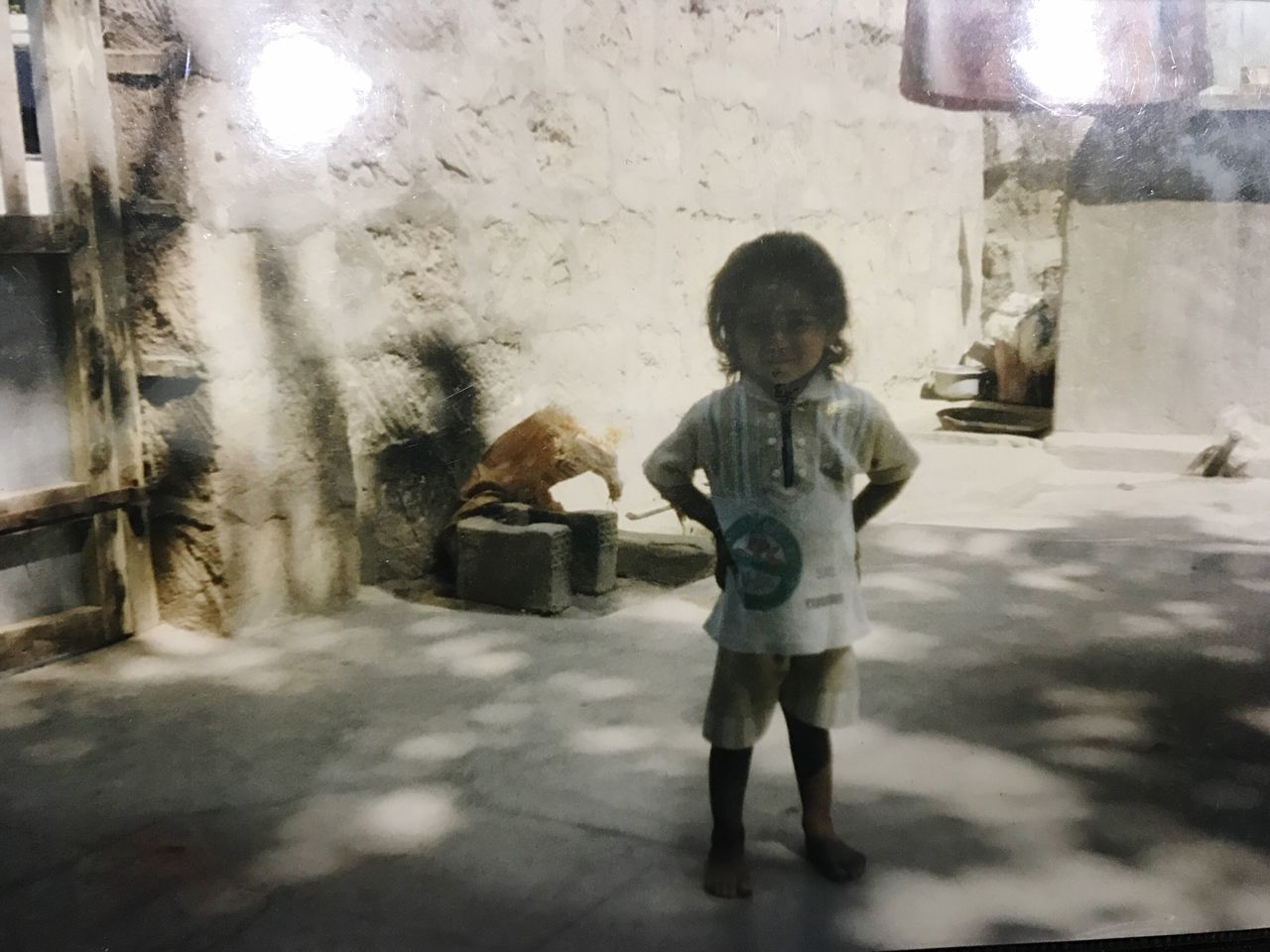 Looking At Camera Childhood Standing Indoors  Day Happiness ♡ In Child Care! EyeEmNewHere Without Edit ^^