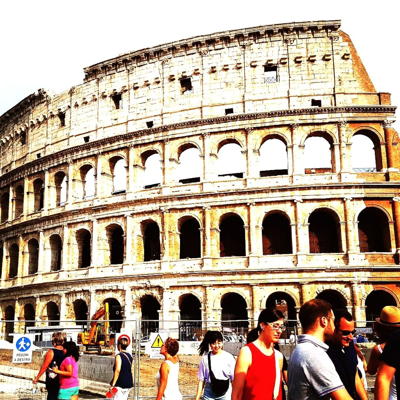 Old Ruin Amphitheater History Travel Destinations Architecture Tourism Ancient Rome Italy Colloseum