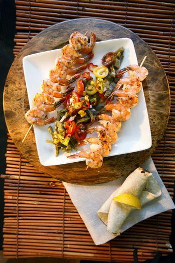 Food Photography Foodstyling Food Shrimps Cactus Salad