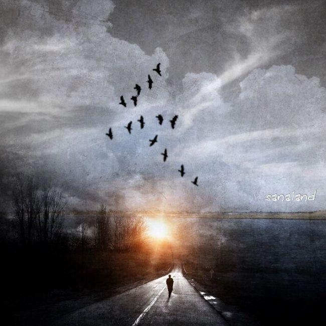 The Journey is all there is. Darkart EyeEm Best Edits Dark Art