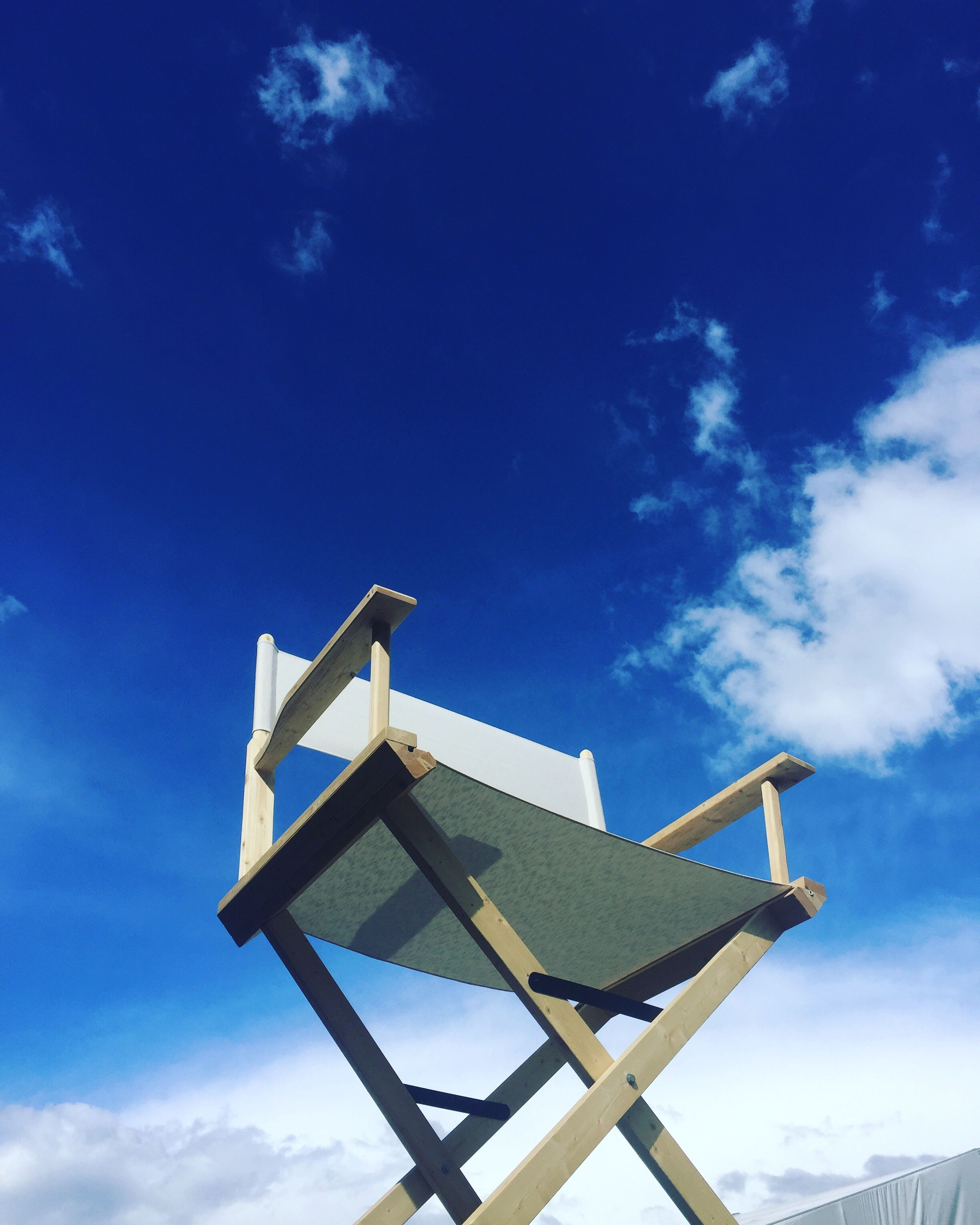 sky, low angle view, cloud - sky, day, no people, blue, outdoors