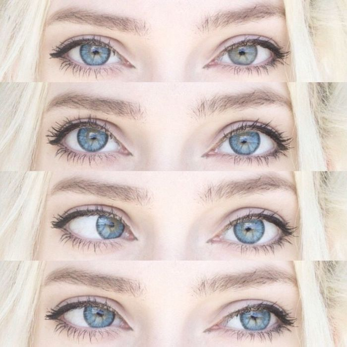 New contacts!!✨ Contacts Me Life Fashion Cute Style Love Beautiful Hot Happy Gorgeous Model Beauty Girl Sexygirl Pale Blonde Hair Faces Of EyeEm Eyes That's Me Selfie