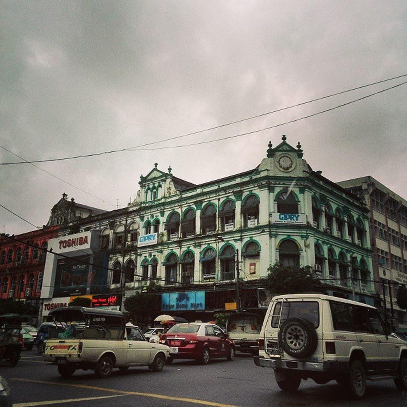 Yangon YangonArchitecture Pansodan Downtown