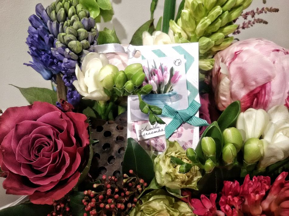 Flover Floristics цветы цветы в шляпных коробке