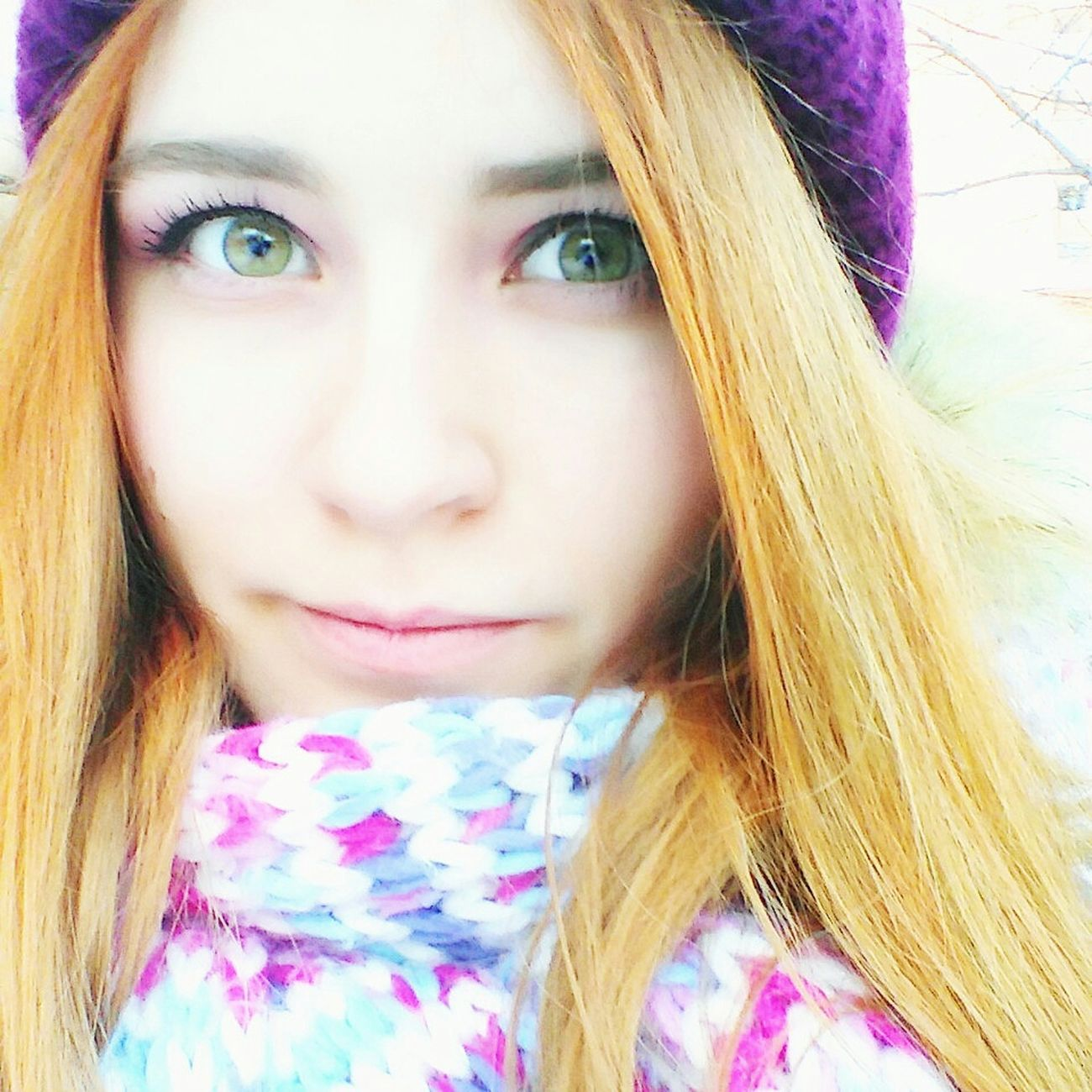 Selfie Girl Cute Selfportrait