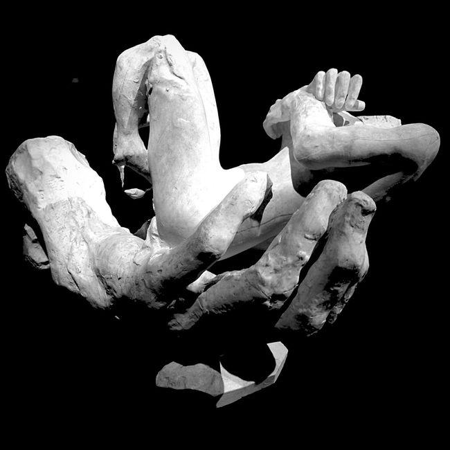 La main du diable. Rodin Sculpture Art Mbamtl Museum